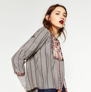 ZARA WOMAN Embroidered